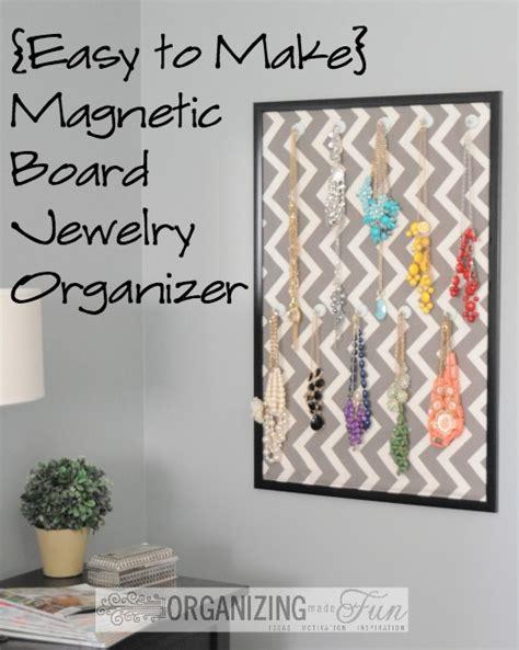 make jewelry organizer easy to make jewelry organizer hometalk