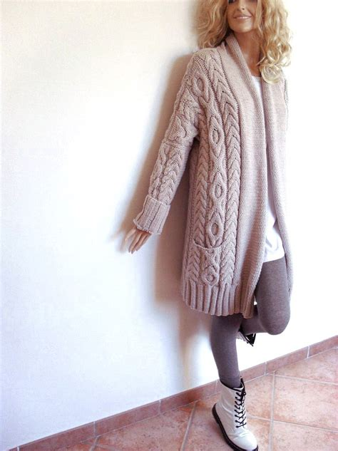 sweater knit s cable knit sweater knitted merino wool cardigan