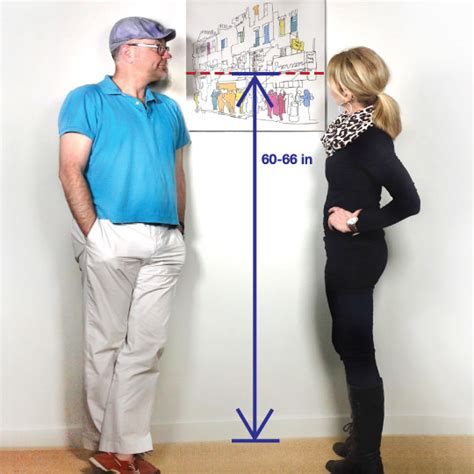 proper height to hang pictures how high should i hang my pictures utr d 233 co