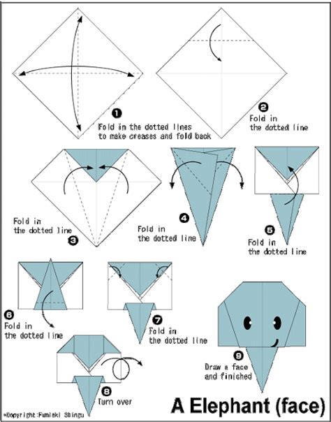 how to make a elephant origami elephant easy origami for