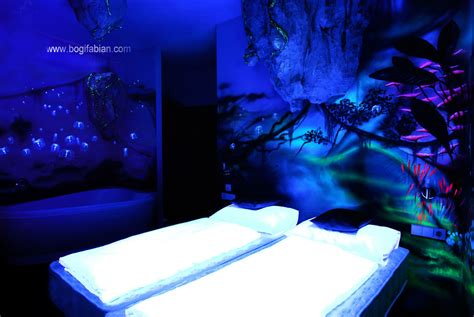 glow in the paint designs glowing murals turn rooms into dreamy worlds