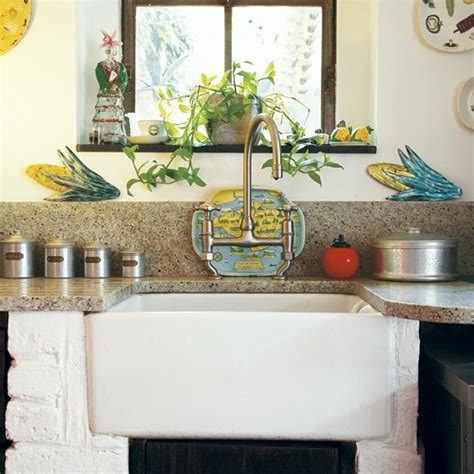 rustic kitchen sink rustic kitchen sink take a tour around an eclectic