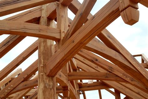 nc woodworking a reclaimed oak timber frame home crafted by new energy