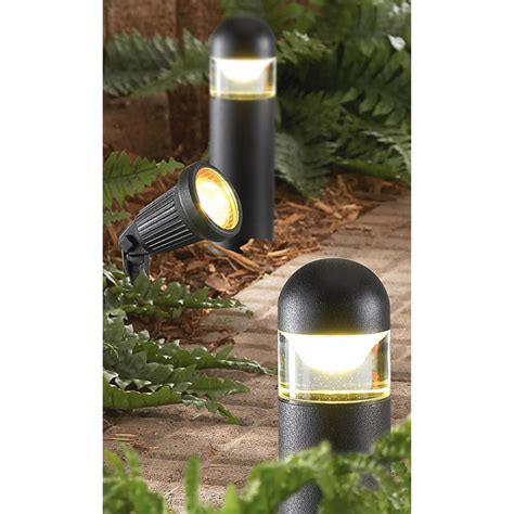 malibu landscape lights malibu 174 8 pc landscape light kit 176929 solar
