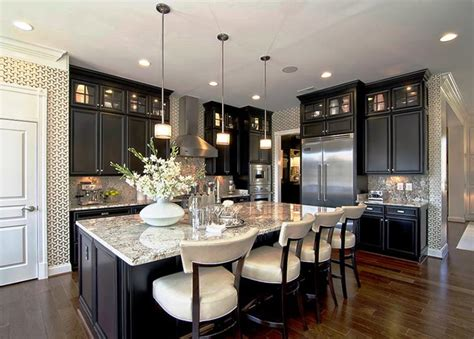 granite kitchen designs 24 beautiful granite countertop kitchen ideas