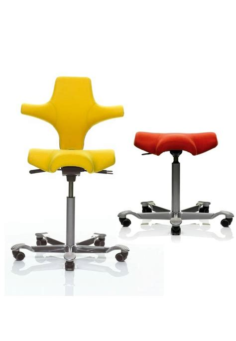 Saddle Ergonomic Chair by Hag Capisco Chair Saddle Seat Office Furniture Scene
