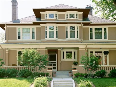 paint colors homes white brick houses exterior paint color combinations