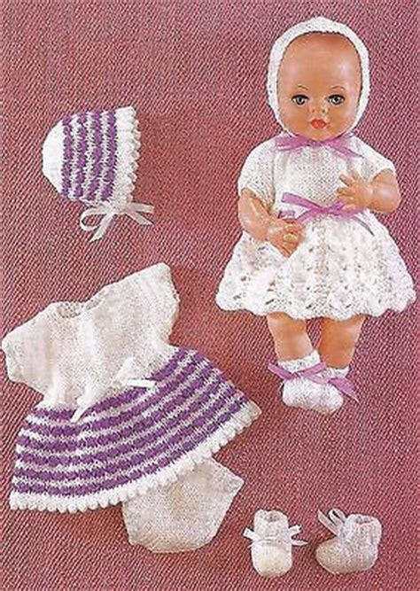 free 12 inch doll knitting patterns free knitting patterns 12 inch dolls simple free