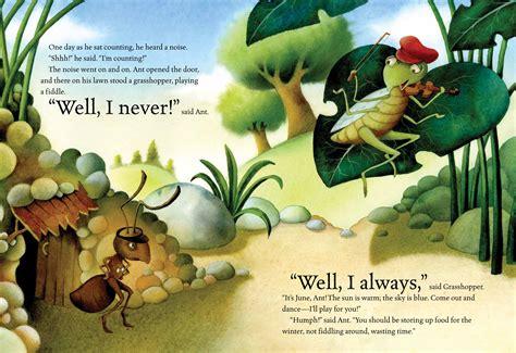 the ant and the grasshopper picture book ant and grasshopper book by luli gray giuliano ferri