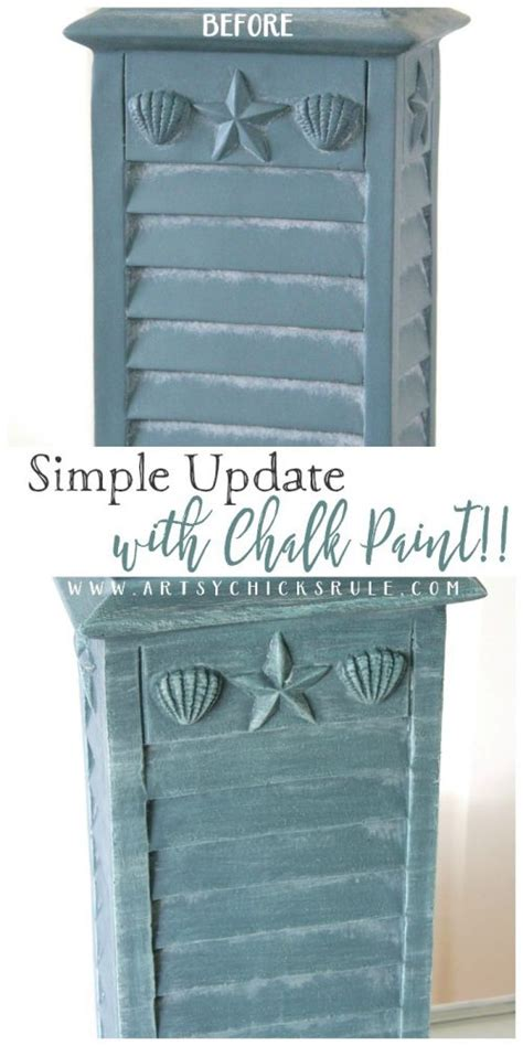 chalk paint easy simple update with chalk paint artsy rule 174