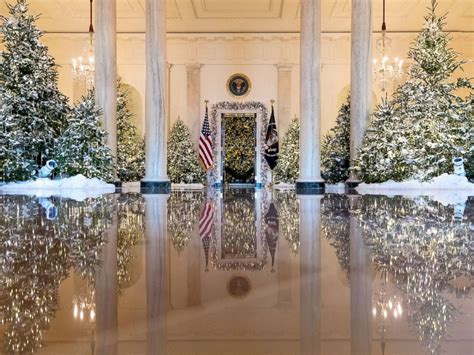 white house decorations white house reveals 2017 decorations abc news