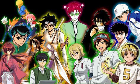 best shonen shonen jump top 10 anime www imgkid the image kid