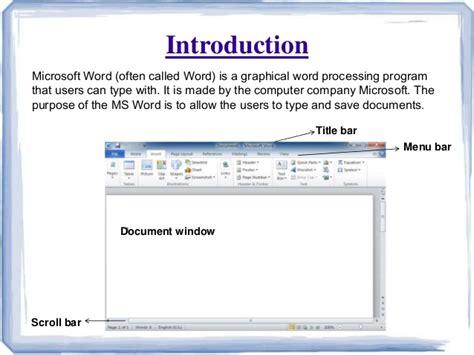 on microsoft word microsoft word ppt presentation