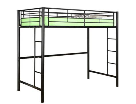 metal frame loft beds loft bed frame whereibuyit