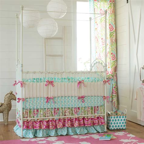 beautiful baby crib bedding kumari garden crib bedding nursery bedding