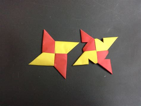 paper shuriken origami how to make a paper step by step tutorial