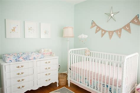 mint nursery decor telling a story with vintage decor project nursery