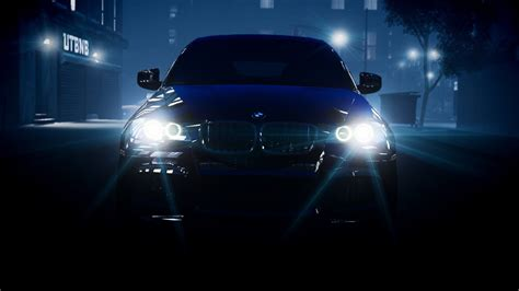 Car Lights Wallpaper by Bmw Lights Headlights X6 Hd Wallpaper Cars