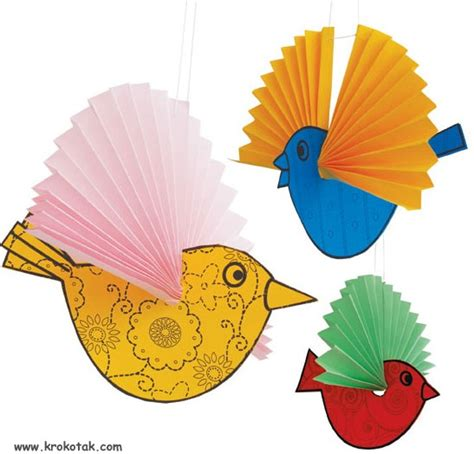 bird paper craft 17 best images about bird theme on parrots