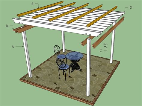 pergola blueprints free 13 free pergola plans you can diy today