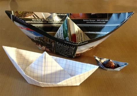 san boat origami visual journal writing in an origami boat