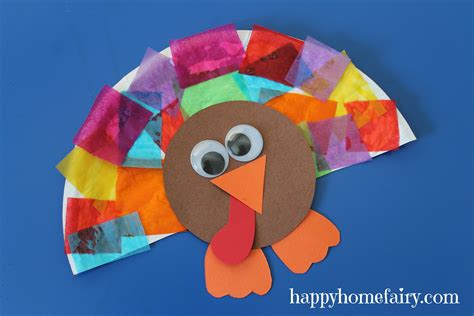 how to make a paper plate turkey craft easy turkey craft happy home