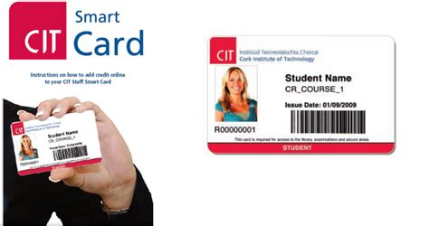 how to make student card cit smartcard cork institute of technology it services