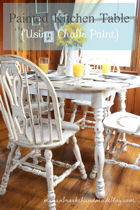 chalkboard paint kitchen table newly white painted furniture traditional dining room