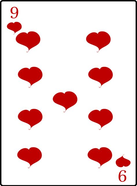 of hearts clipart 9 of hearts