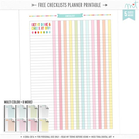 home planner free free planner printables