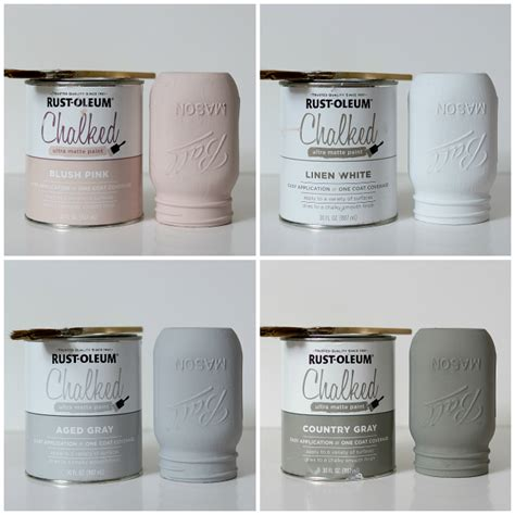chalkboard paint rustoleum colors how to paint and distress jars