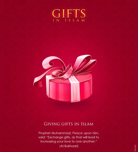for to give as gifts s giving gifts in islam