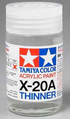acrylic paint exles tamiya ta81030 x 20a acrylic paint thinner 46ml 1 6 fl