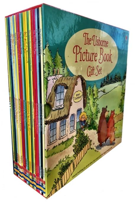 usborne picture books gift set the usborne picture book collection 20 children books box