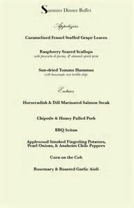 wedding buffets menus buffet menus for weddings