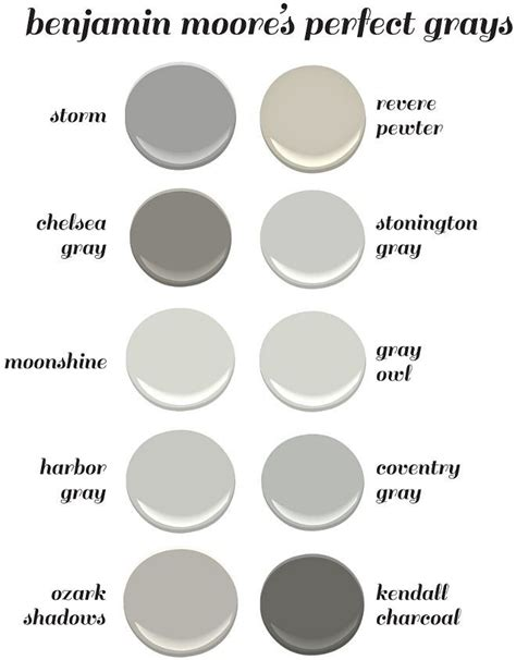 paint colors for 2017 benjamin benjamin paint colors chart canada home painting