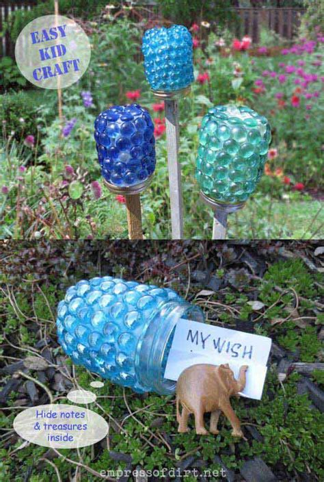 gardening crafts for 34 easy and cheap diy projects to dress up your garden