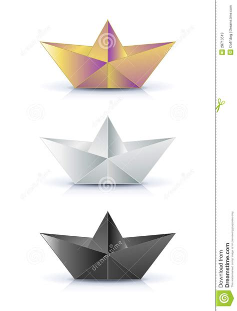 paper ship origami origami paper ship royalty free stock images image 28710519