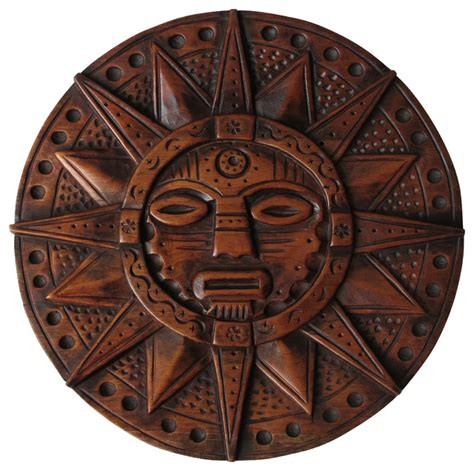 inca crafts for sun god inca wooden crafts carved by artisans in