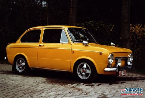 abarth fiat 850 special 1970