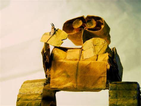 origami wall e wall e