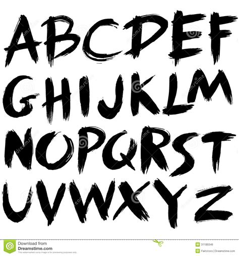 Thick Paint Stroke Search Fonts