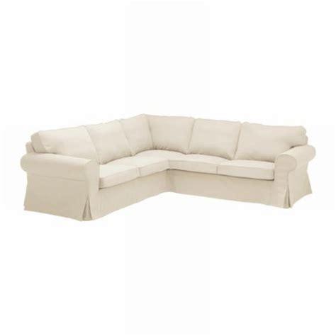 ikea ektorp 2 2 corner sofa cover slipcover svanby beige
