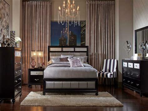coaster furniture bedroom sets coaster 200891 barzini glam king bedroom set in myrtle