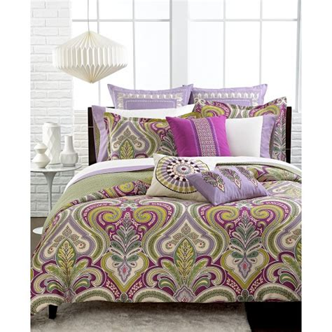 echo bedding sets echo design vineyard paisley comforter set