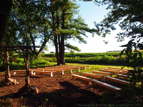 gardens of castle rock the gardens of castle rock wedding in the woods at the