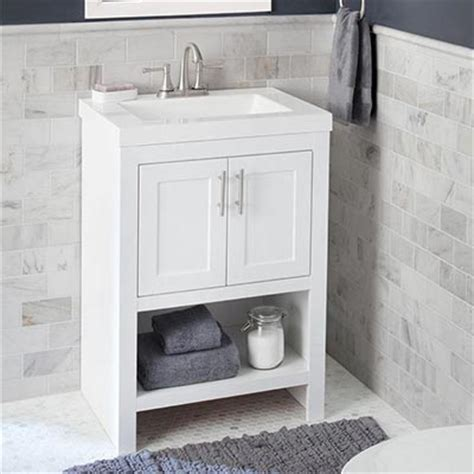 single vanities for small bathrooms shop bathroom vanities vanity cabinets at the home depot