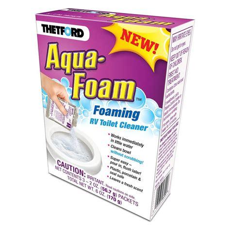Thetford Toilet Cleaner by Thetford 174 Aqua Foam Rv Toilet Cleaner Cerid