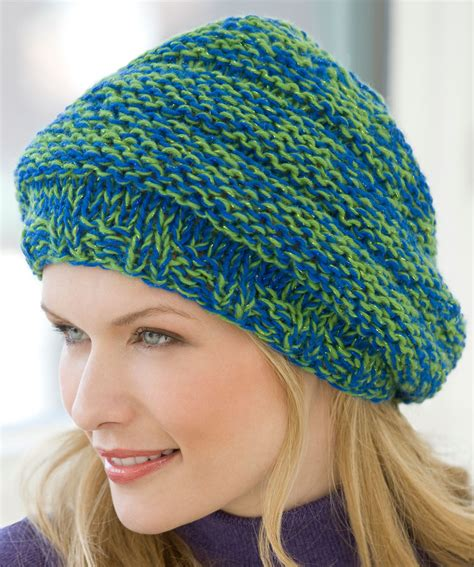 pattern for knitted slouch hat knit slouchy hat knitting pattern