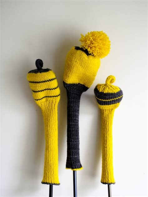 knitted golf club covers s loop knit golf club covers things i want to